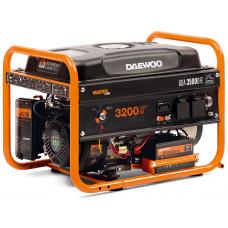 Генератор бензиновый DAEWOO GDA 3500 DFE + газ