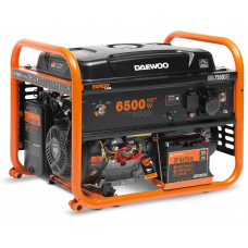 Генератор бензиновый DAEWOO GDA 7500 DFE + газ
