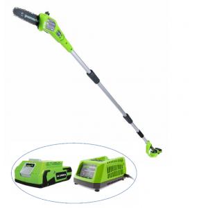 Высоторез - сучкорез аккумуляторный GreenWorks G24PS20K2 (с АКБ и ЗУ)