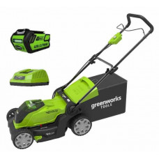 Газонокосилка аккумуляторная GreenWorks G40LM41K4 2504707VB