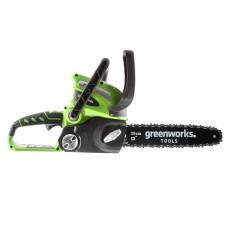 Цепная пила аккумуляторная GreenWorks G40CS30 20117