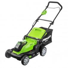 Газонокосилка аккумуляторная GreenWorks G40LM41 2504707 (без АКБ и ЗУ)