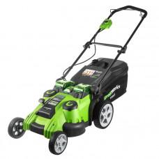 Газонокосилка аккумуляторная GreenWorks G40LM49DB TwinForce 2500207