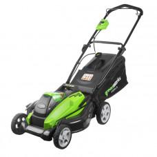 Газонокосилка аккумуляторная GreenWorks G40LM45 2500107 (без АКБ и ЗУ)