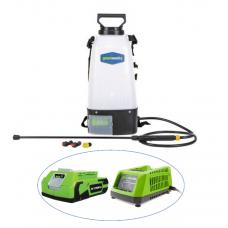 Опрыскиватель аккумуляторный GreenWorks (с АКБ и ЗУ)