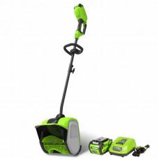 Снегоуборщик аккумуляторный GreenWorks GD40SSK2 2600807UA