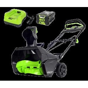 Снегоуборщик аккумуляторный GreenWorks GD80ST 2600107UA
