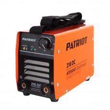 Сварочный аппарат PATRIOT 210DC MMA