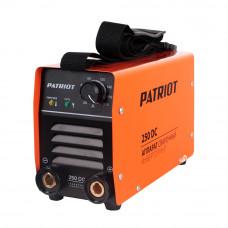 Сварочный аппарат PATRIOT 250DC MMA + кейс