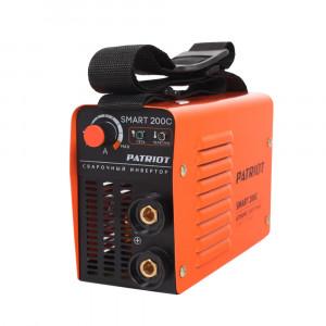 Сварочный аппарат PATRIOT SMART 200С MMA + кейс