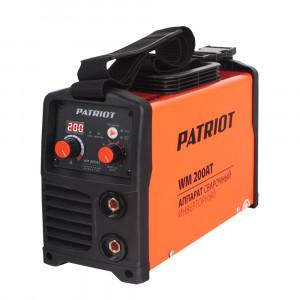 Сварочный аппарат PATRIOT WM 200AT MMA
