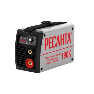 Сварочный аппарат инверторный Ресанта САИ190К (компакт)